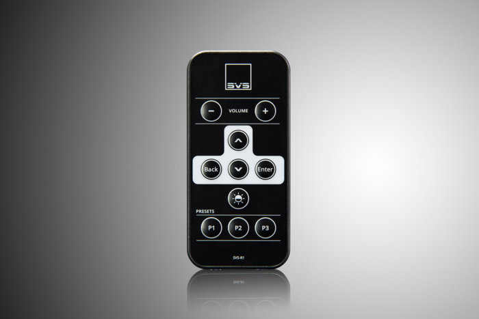 he SB16-Ultra comes with a traditional IR remote in addition to the iOS and Android mobile app
