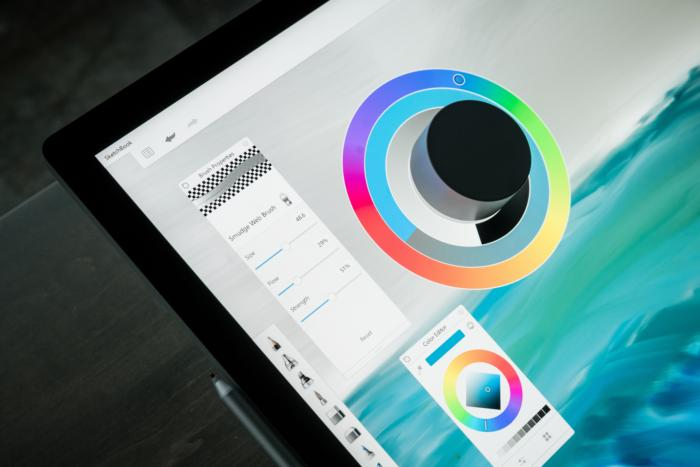 Microsoft Surface Studio Surface Dial