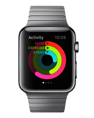 apple watch activity 580