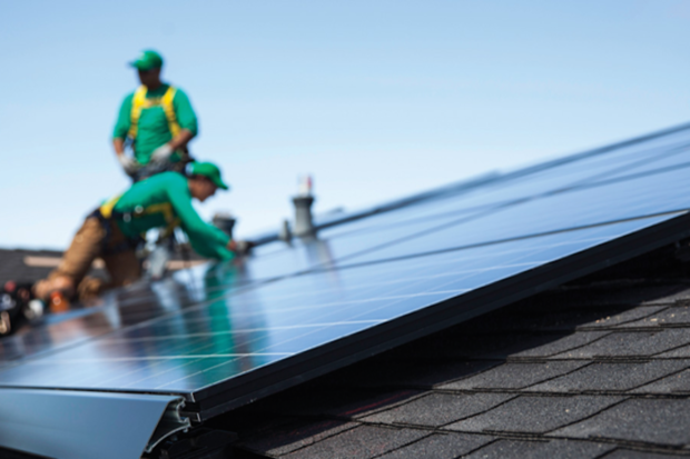 SolarCity solar PV installations