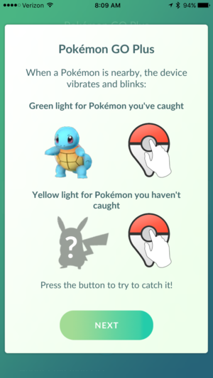 pokemon go plus tutorial