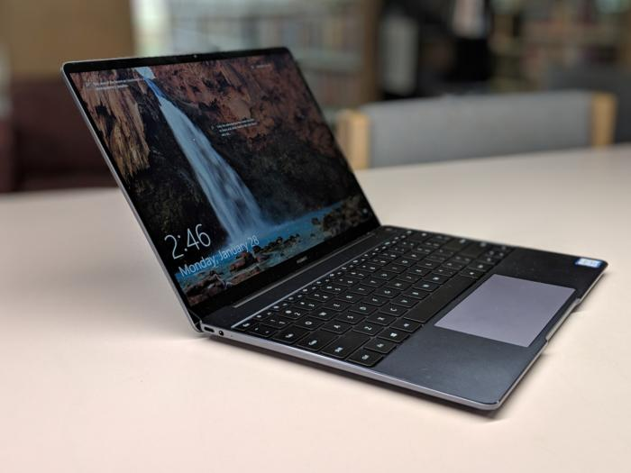 Huawei Matebook 13 alternate profile shot