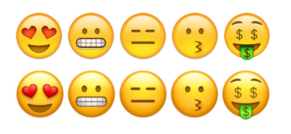emoji ios10 smileys