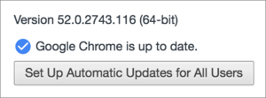 google earth chrome auto update