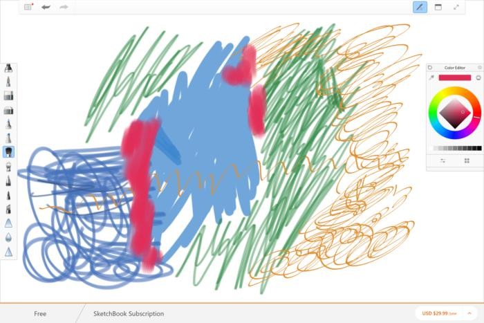 slide 4 autodesk sketchbook
