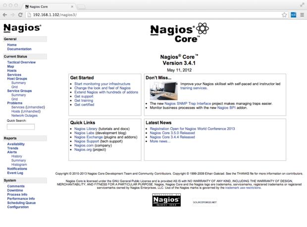 Network traffic control with Nagios