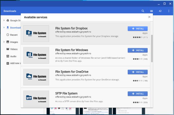 Chromebook Chrome OS tips - cloud storage