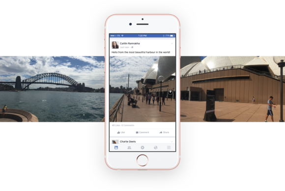facebook 360 photos