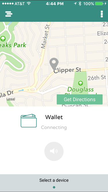 trackr ios app