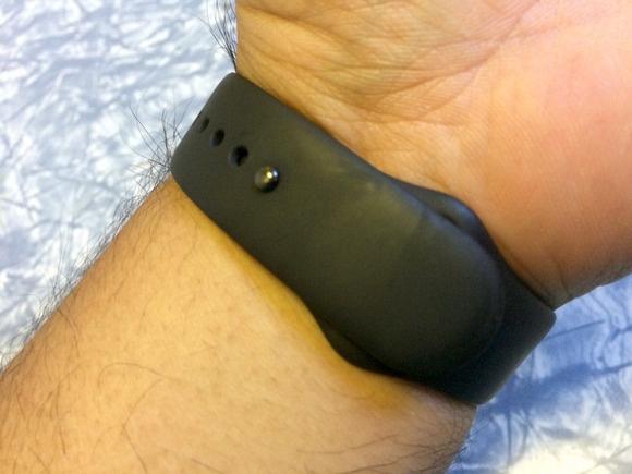 apple watch blk band wrist