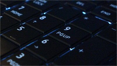 Toshiba Satellite U500 backlit keys