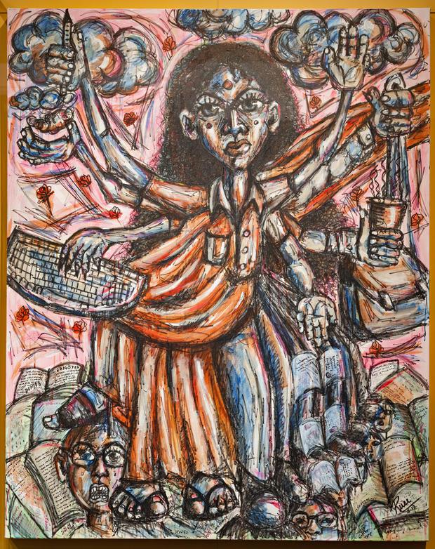 goddess of visas