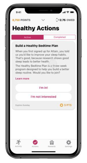 Attain CVS Aetna mobile healthcare