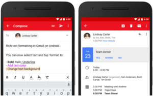 New features in Gmail