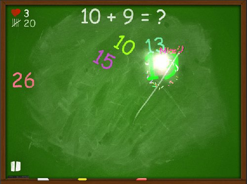 Blackboard Madness Maths app