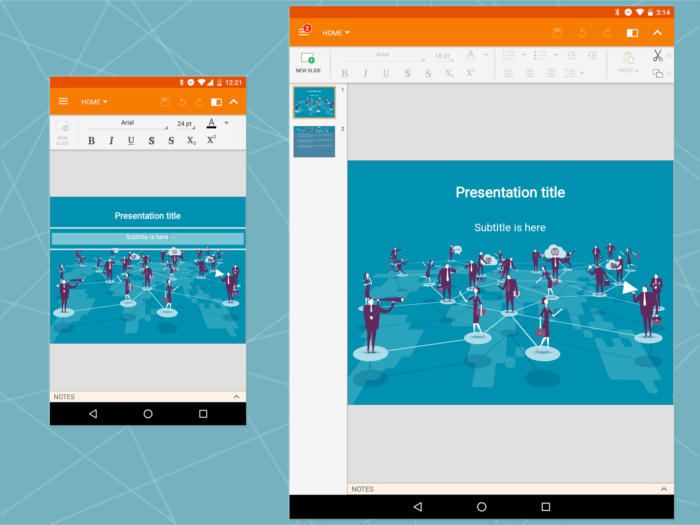 Android Office: OfficeSuite presentation