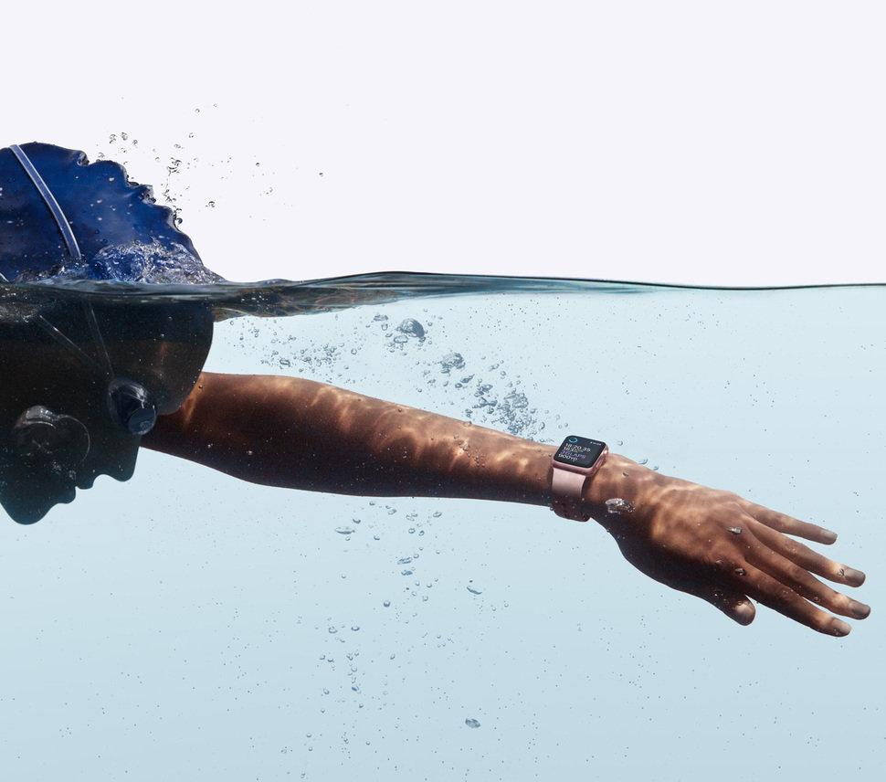 apple watch2 swimming