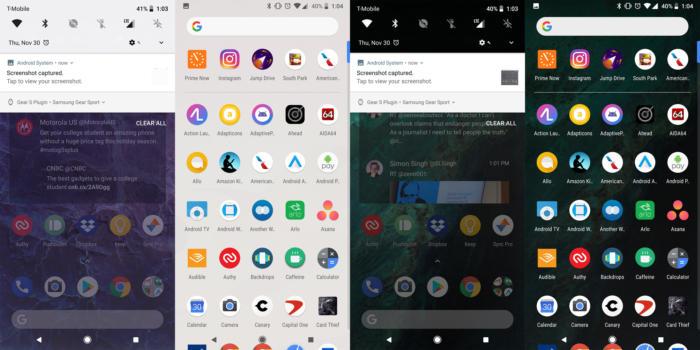 google pixel 2 themes