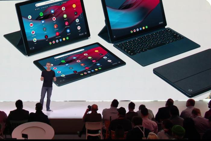 google pixel slate group shot trond wuellner