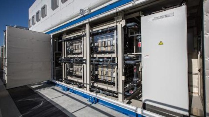 vanadium redox flow battery installed by SDG&E