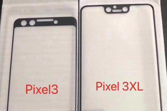 pixel 3 leak top