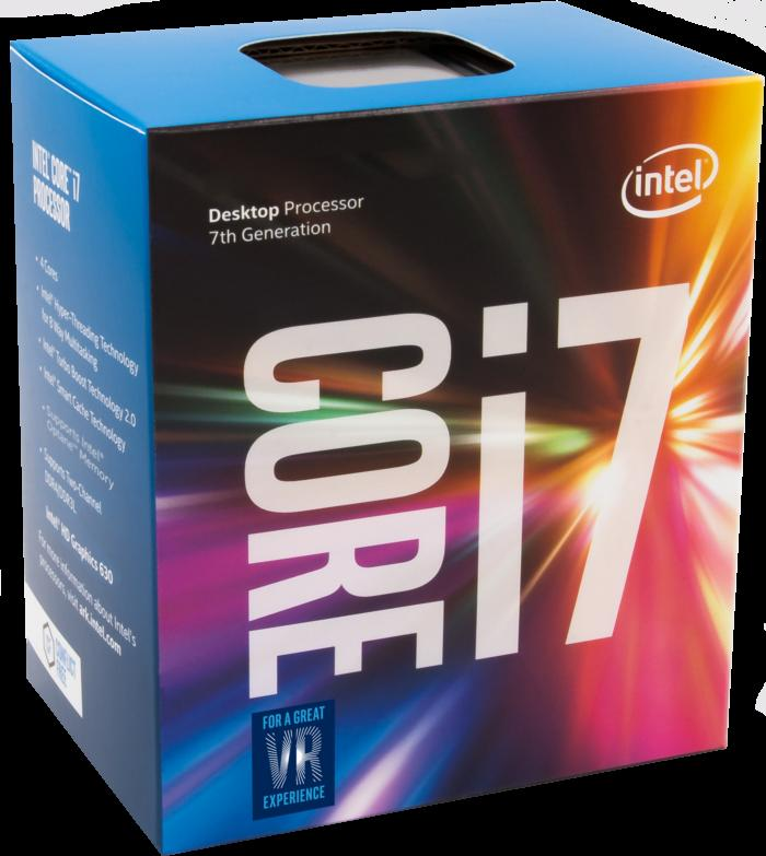 Intel Kaby Lake Core i7 chip