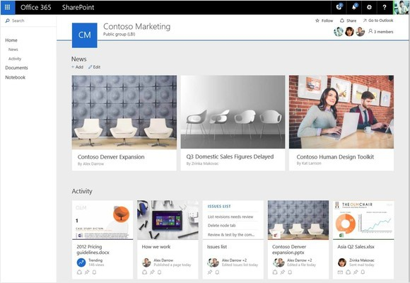 2016 may 4 future of sharepoint new sp team sites ui in o365 browser