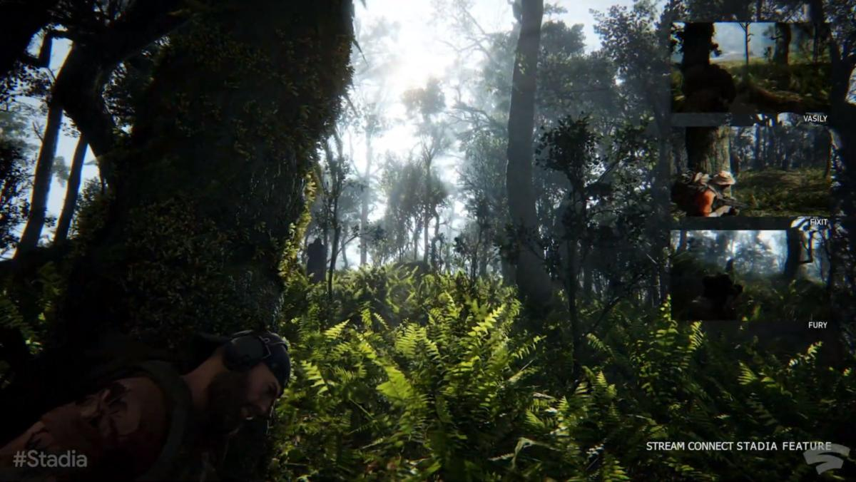 google stadia ghost recon stream connect