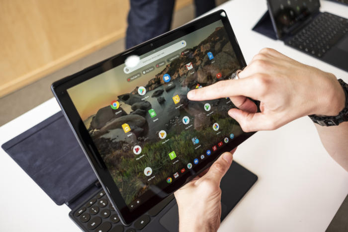 pixel slate touch