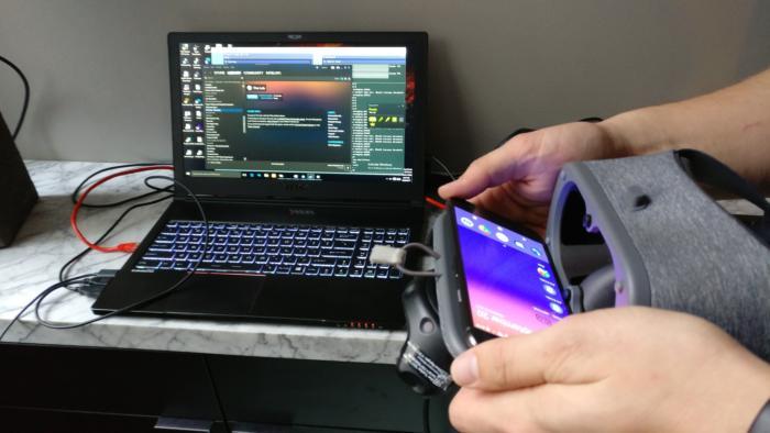 VR Intel Google