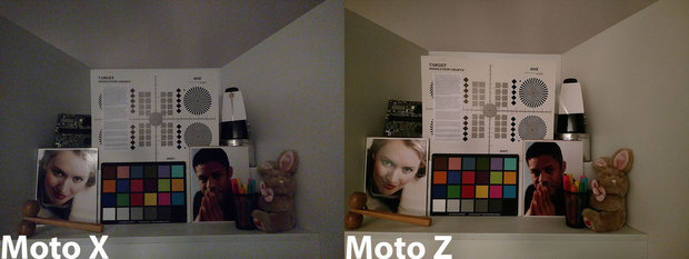 motox vs motoz lowlight