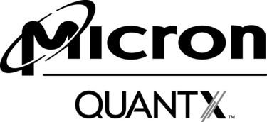 micron quantx logo black.gray 60