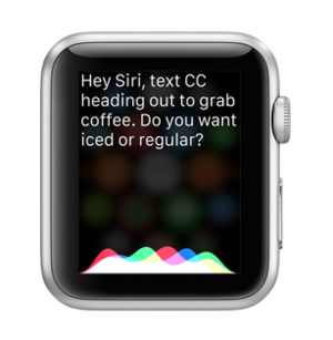 apple watch siri
