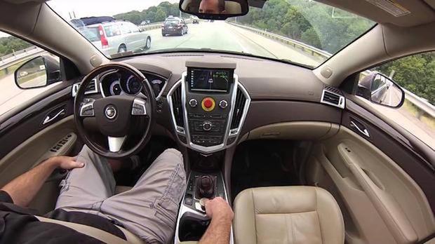 Carnegie Mellon self-driving car