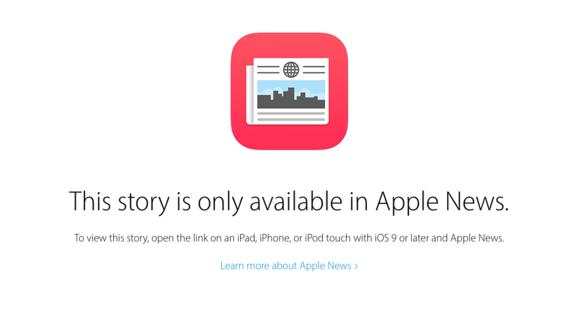 apple news ios