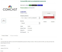 comcast darkweb full ad