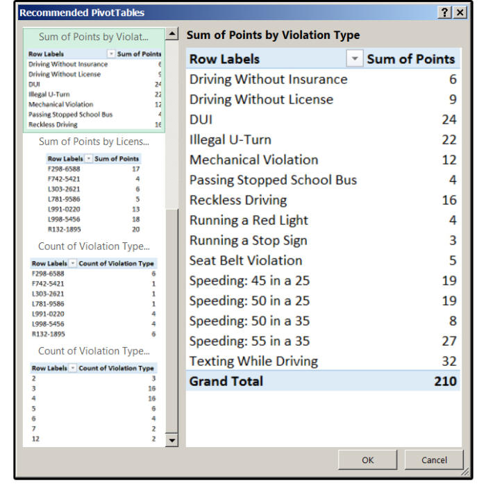 05 additional reports based on fields in your table