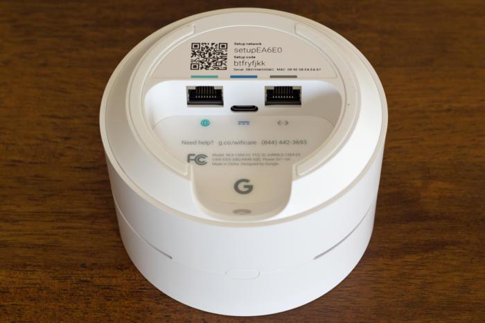 Google WiFi ports