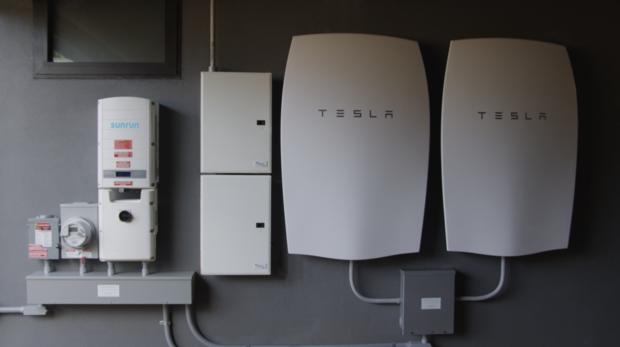 Sunrun Tesla battery pack