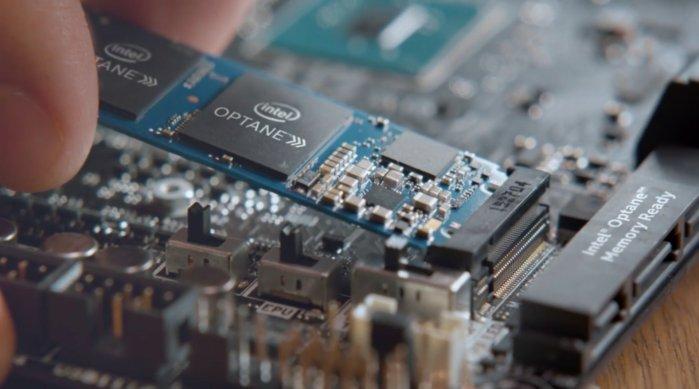 Optane memory PC accelerator