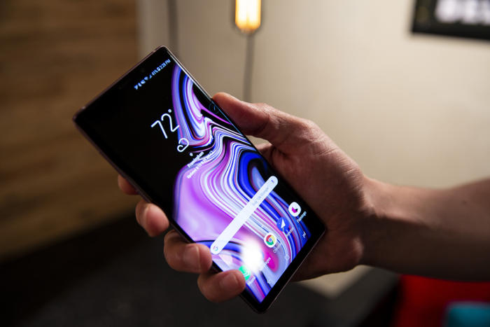 galaxy note 9 screen