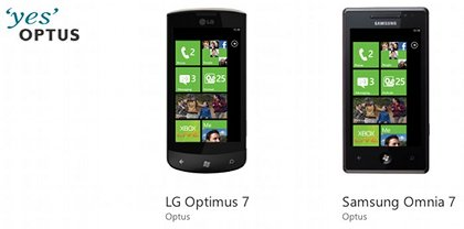 Optus Windows Phone