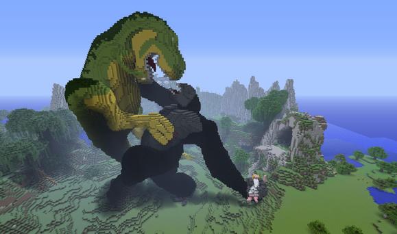 minecraft king kong