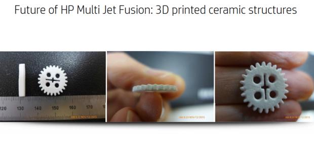 HP Fusion Jet 3D printer