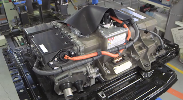 Toyota Mirai FCV's fuel cell stack
