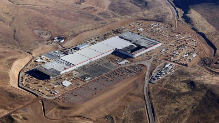 Tesla gigafactory announcement