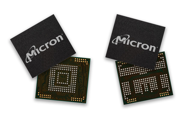Micron 3D NAND mobile flash