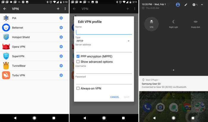 android vpn manual vpn