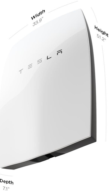 Tesla Powerwall battery specs imperial