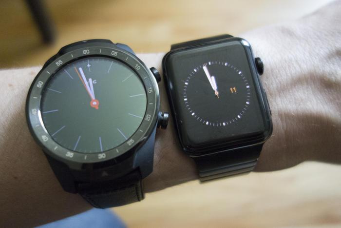 mobvoi ticwatch pro apple watch